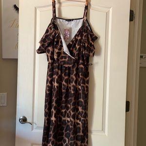 Boohoo maxi dress.